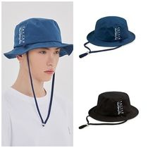 ROMANTIC CROWN Unisex Street Style Bucket Hats Wide-brimmed Hats