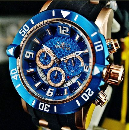 Unisex Street Style Divers Watches Analog Watches