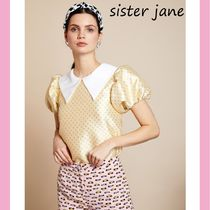 Sister Jane Casual Style Medium Short Sleeves Shirts & Blouses