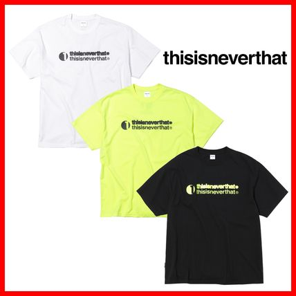 thisisneverthat More T-Shirts Unisex Street Style Cotton T-Shirts