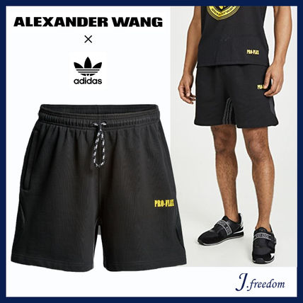 Street Style Collaboration Cotton Shorts
