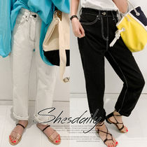 Casual Style Long Pants