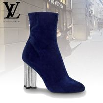 Louis Vuitton Plain With Jewels Ankle & Booties Boots