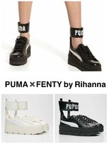 PUMA FENTY Rubber Sole Casual Style Unisex Street Style Collaboration