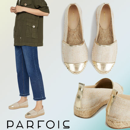 PARFOIS More Flats Casual Style Blended Fabrics Flats