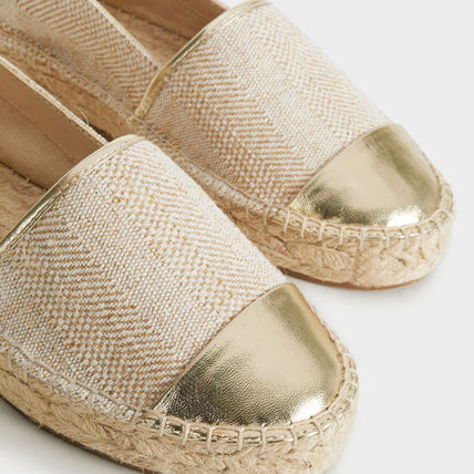 PARFOIS More Flats Casual Style Blended Fabrics Flats 7