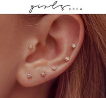 Star Silver Earrings & Piercings