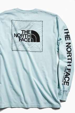 THE NORTH FACE Crew Neck Crew Neck Street Style Long Sleeves Cotton 5