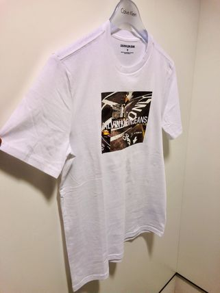 Calvin Klein More T-Shirts Street Style Short Sleeves T-Shirts 6