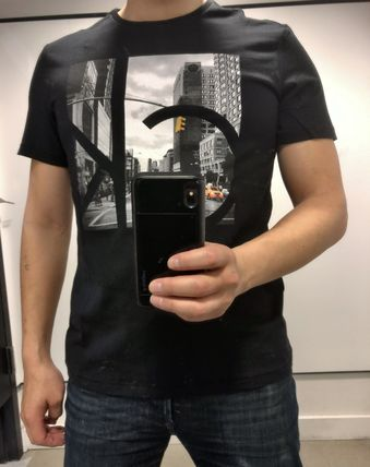 Calvin Klein More T-Shirts Street Style Short Sleeves T-Shirts 8