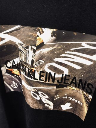 Calvin Klein More T-Shirts Street Style Short Sleeves T-Shirts 15