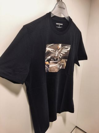 Calvin Klein More T-Shirts Street Style Short Sleeves T-Shirts 17