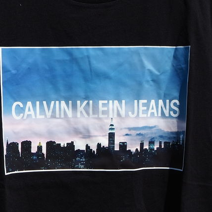 Calvin Klein More T-Shirts Unisex Street Style Short Sleeves T-Shirts 7