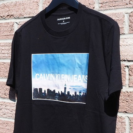Calvin Klein More T-Shirts Unisex Street Style Short Sleeves T-Shirts 8