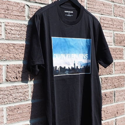 Calvin Klein More T-Shirts Unisex Street Style Short Sleeves T-Shirts 9