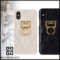 GIVENCHY Unisex Leather Smart Phone Cases