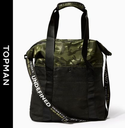 Camouflage Street Style 2WAY Totes
