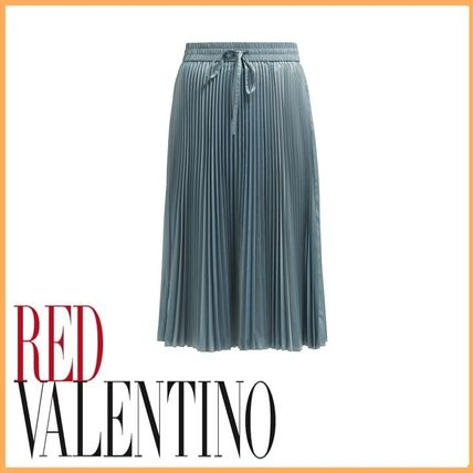 24b8be3df0 RED VALENTINO 2019 SS Plain Medium Office Style Midi Skirts by Ms ...