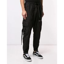 Off-White Street Style Plain Cotton Pants
