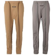 FEAR OF GOD Tapered Pants Unisex Street Style Cotton Tapered Pants