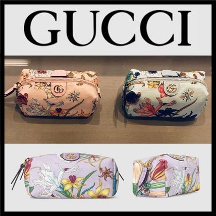 c989b3f75ee ... GUCCI Pouches   Cosmetic Bags GUCCI JAPAN Exclusive Flora Cosmetic ...