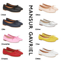 MANSUR GAVRIEL Platform Casual Style Plain Lace-Up Shoes