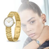 FENDI FOREVER Round Quartz Watches Stainless Elegant Style Focused Brands