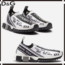 Dolce & Gabbana Casual Style Leather Low-Top Sneakers