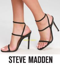 Steve Madden Open Toe Plain Pin Heels Party Style Heeled Sandals