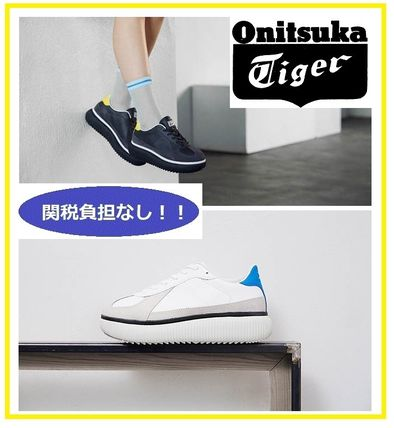 new styles 7c2fd 0238a Onitsuka Tiger 2019 SS Unisex Street Style Plain Sneakers (1183A386)