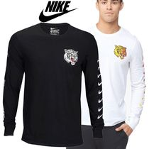 Nike U-Neck Cotton Short Sleeves T-Shirts