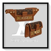 Louis Vuitton Monogram Calfskin Blended Fabrics Pouches & Cosmetic Bags