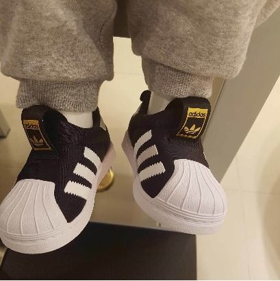 adidas SUPERSTAR Baby Girl Shoes