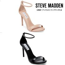 Steve Madden Open Toe Leather Pin Heels Party Style Heeled Sandals