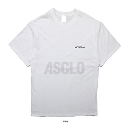ASCLO More T-Shirts Street Style Oversized T-Shirts 15