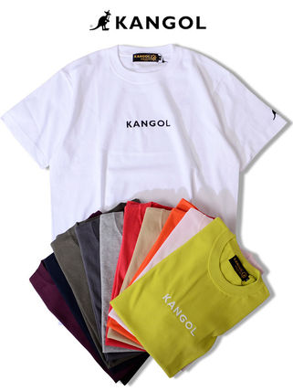 Kangol Crew Neck Crew Neck Unisex Street Style Collaboration Cotton