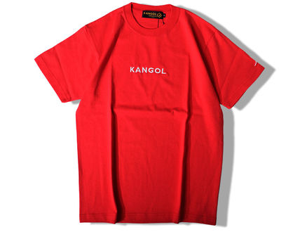 Kangol Crew Neck Crew Neck Unisex Street Style Collaboration Cotton 9