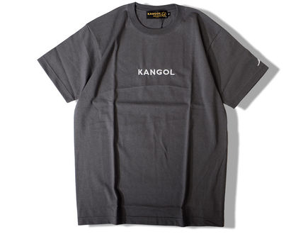 Kangol Crew Neck Crew Neck Unisex Street Style Collaboration Cotton 11
