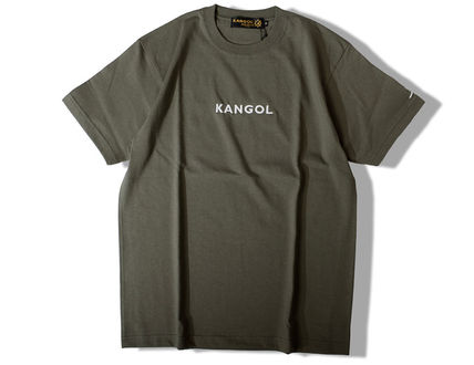 Kangol Crew Neck Crew Neck Unisex Street Style Collaboration Cotton 12