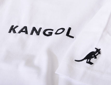 Kangol Crew Neck Crew Neck Unisex Street Style Collaboration Cotton 17