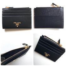 PRADA Leather Card Holders