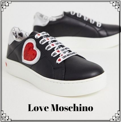 Lace-up Casual Style Low-Top Sneakers