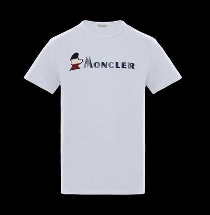 MONCLER More T-Shirts Street Style Plain Cotton Short Sleeves T-Shirts 2