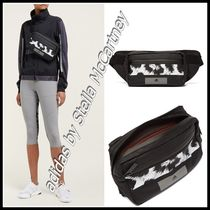 adidas by Stella McCartney Leopard Patterns Unisex Street Style Bags