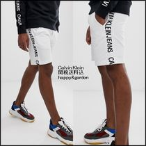 Calvin Klein Sweat Street Style Bi-color Joggers Shorts