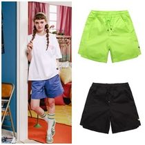 WV PROJECT Casual Style Unisex Street Style Plain Shorts
