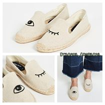 SOLUDOS Casual Style Plain Flats