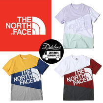 THE NORTH FACE WHITE LABEL Crew Neck Unisex Cotton Short Sleeves Crew Neck T-Shirts