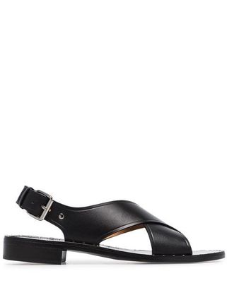Open Toe Leather Sandals Sandal