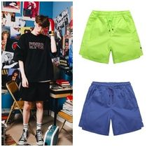 WV PROJECT Unisex Street Style Cotton Shorts